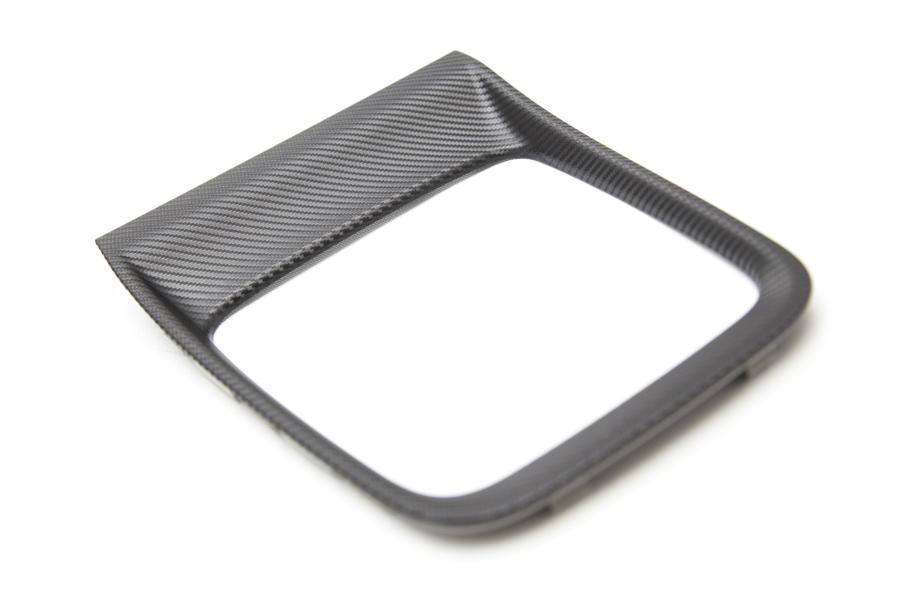 Subaru OEM JDM Shifter Trim Plate Matte Carbon - Subaru WRX CVT 2015 - 2020