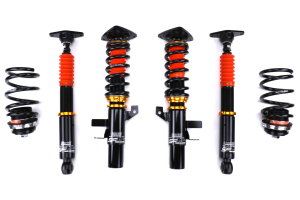 SF Racing Sport Coilovers w/ Front Camber Plate - Ford Focus ST 2015 - 2018