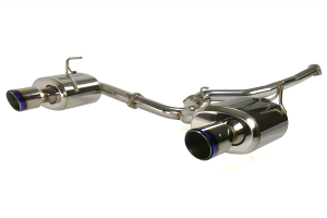 Remark Cat Back Exhaust w/ Burnt Stainless Steel Tip Cover - Subaru WRX/STI 2015+