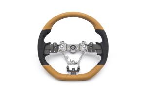Subaru JDM S4 SporVita Tan Steering Wheel - Subaru WRX / STI 2015 - 2020