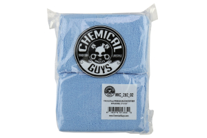 Chemical Guys Premium Grade Microfiber Applicator Pads Blue (2 Pack) - Universal