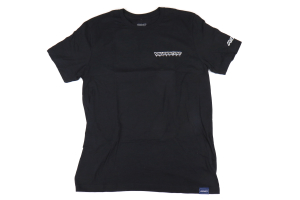 Volk Racing 37 T-Shirt W/ Woven Label Charcoal - Universal