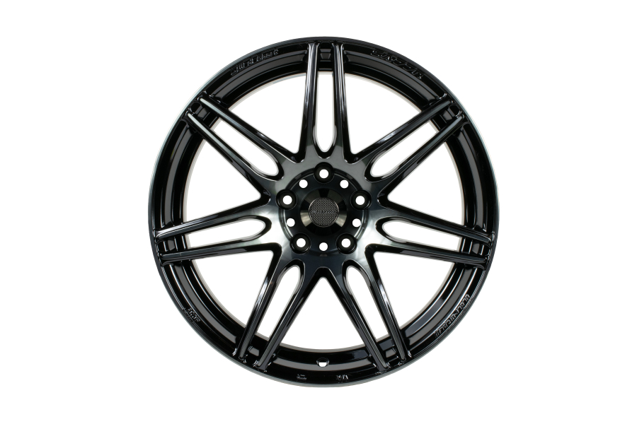 WedsSport SA-77R 4x100 Weds Black Clear - Universal