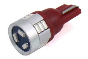 OLM A-Series LED T10 Red Bulb - Universal