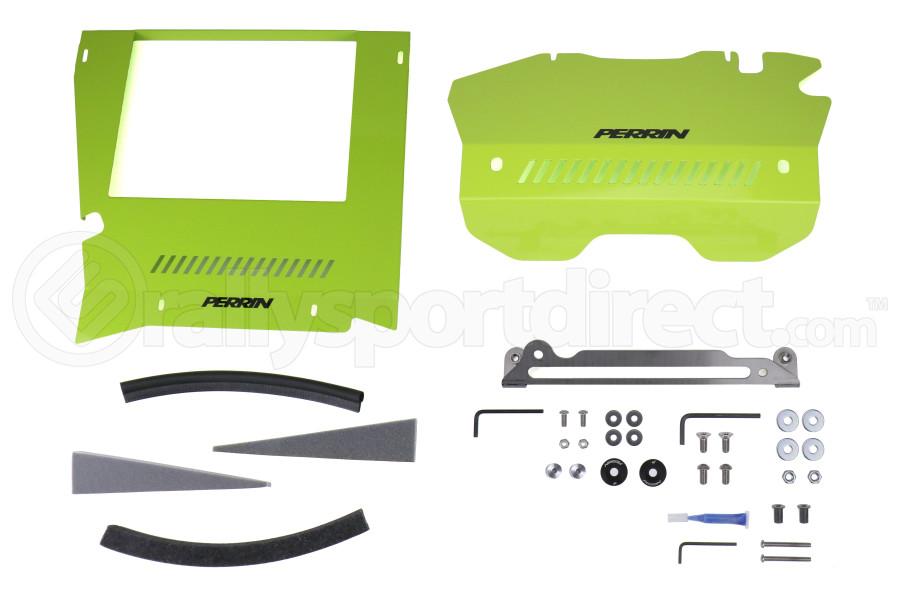 PERRIN Performance Intercooler Shroud and Belt Cover Kit - Subaru WRX 2015 - 2020