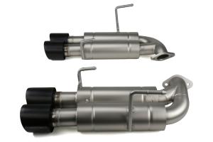 cp-e Austenite Axle Back Exhaust w/ Black Tips - Subaru WRX / STI 2015 - 2020