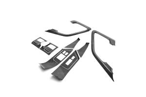 Seibon Carbon Fiber Door Trim Set - Nissan GT-R 2009-2014