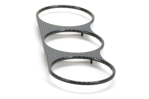 ATI Center Gauge Pod Face Carbon Fiber Look (Part Number: )