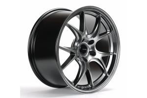 Ambit FF3 Roto-Forged 18x9.5 +35 5x114 Black Chrome Wheel - Universal