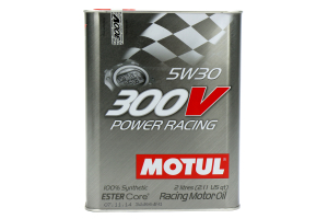 Motul 300V Power Racing 5W30 Engine Oil 2.1qt - Universal