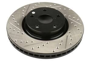 Stoptech Drilled and Slotted Front Rotors (Part Number: )