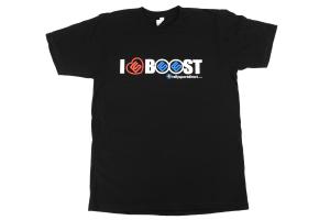 RallySport Direct I Heart Boost T-Shirt Black Mens (PREMIUM)  ( Part Number: 331)
