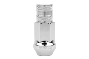 Gorilla Forged Steel Racing Lug Nuts Chrome Close Ended 12x1.25 (Part Number: )