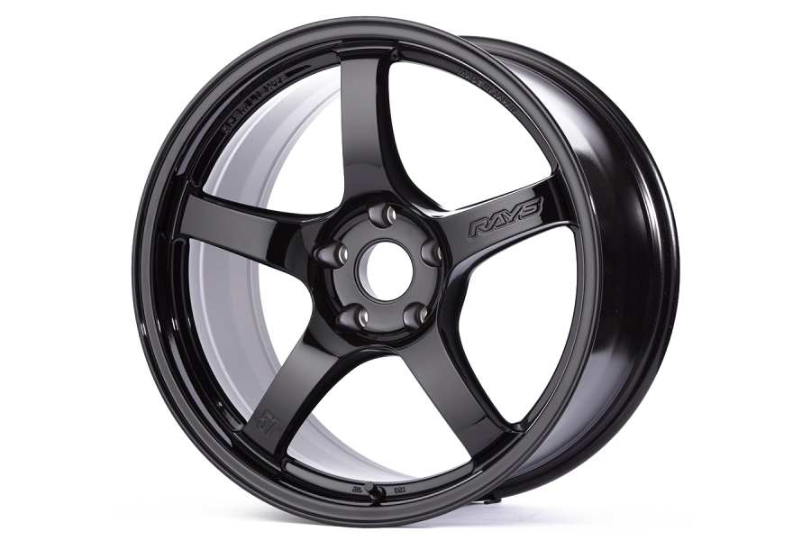 Gram Lights 57CR 18x9.5 +38 5x114.3 Gloss Black - Universal