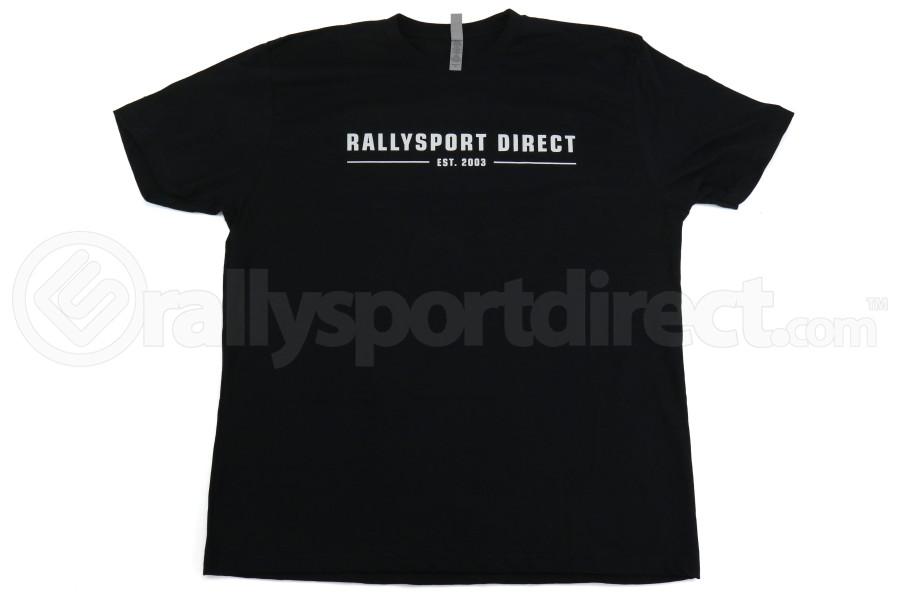 RallySport Direct Vintage Black Premium T-Shirt (Part Number:4010)