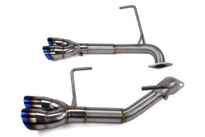 Nameless Performance Axle Back Exhaust w/ Muffler Delete (RSD Exclusive) - Subaru STI 2019-2020