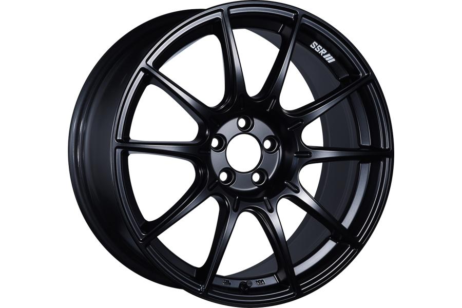 SSR GTX01 17x7 +42 4x100 Flat Black - Universal
