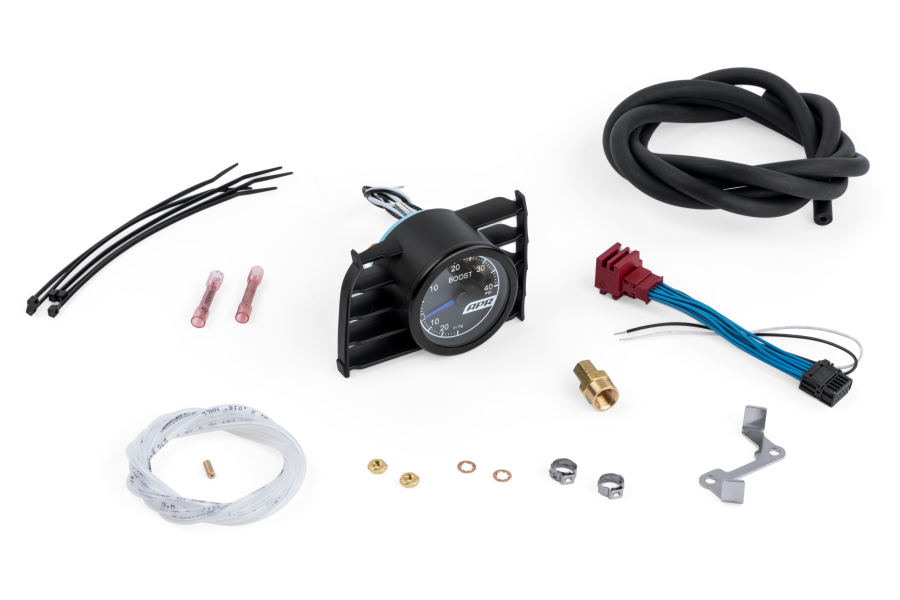 APR Boost Gauge Kit Blue Needle - Volkswagen GTI 2015+ / Golf R 2016+