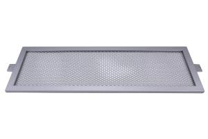 InterTek Fabrication Intercooler Guard Silver - Subaru STI 2008-2014