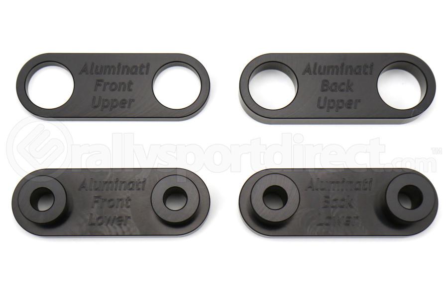 Aluminati Solid Transmission Crossmember Bushings - Subaru Models (inc. 2002+ WRX / STI)