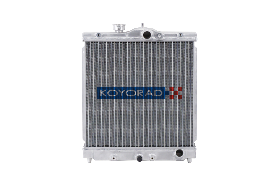 Koyo Aluminum Racing Radiator Manual Transmission - Honda SOHC Civic 1992-2000 / Del Sol 1993-1997