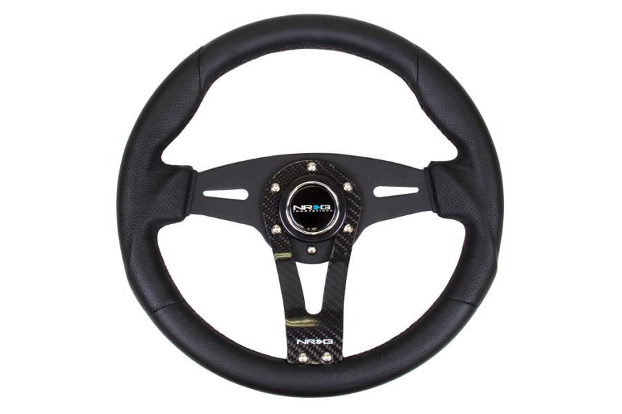 NRG Reinforced Steering Wheel 320mm Carbon Fiber - Universal