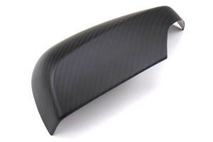 OLM S-line Dry Carbon Fiber Mirror Covers w/ Turn Signal Hole Matte - Subaru WRX / STI 2015+