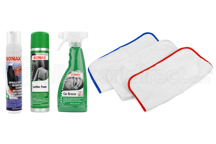 Complete Auto Interior Cleaning Kit - Universal