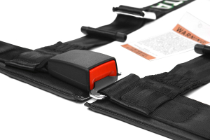 Takata Drift II 4-Point Harness Black Bolt-On (Part Number: )