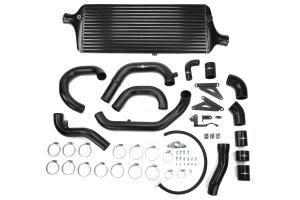 Process West Front Mount Intercooler Kit Black - Subaru STI 2015+