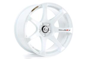 Cosmis Racing Wheels MR7 18x9 +25 5x114.3 White - Universal