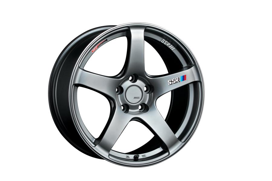 SSR GTV01 17x7 +42 4x100 Glare Silver - Universal