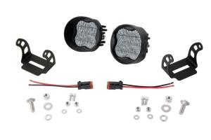 Diode Dynamics SS3 Pod Max Angled Fog Light Kit White - Universal