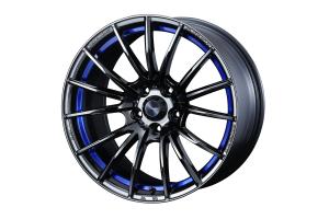 WedsSport SA35R 5x114.3 Blue Light Chrome II - Universal