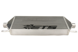 ETS Front Mount Intercooler Core 3.5in Silver w/ Black Logo - Subaru STI 2015 - 2020