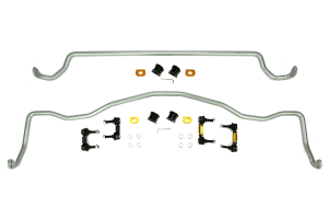 Whiteline Front and Rear Sway Bar Kit w/Endlinks ( Part Number:WHI BSK014)