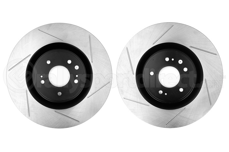 Powerslot Slotted Front Rotor Pair (Part Number:126.46076S-GRP)