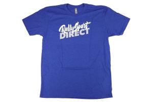 RallySport Direct Distress T-Shirt Blue - Universal