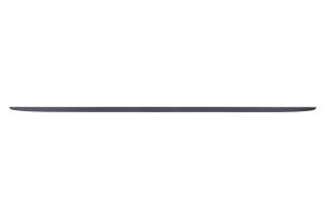 STI Trunk Lid Garnish Black / Silver w/Cherry Red Stripe - Subaru WRX / STI 2015 - 2020