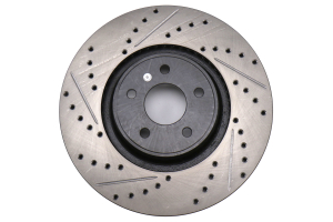 Stoptech Sport Drilled and Slotted Front Right Rotor - Ford Focus ST 2013 - 2018