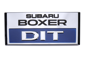 Subaru OEM JDM DIT Engine Cover Oranament - Subaru Models (inc. WRX 2015 - 2020 / Forester XT 2014 - 2018)