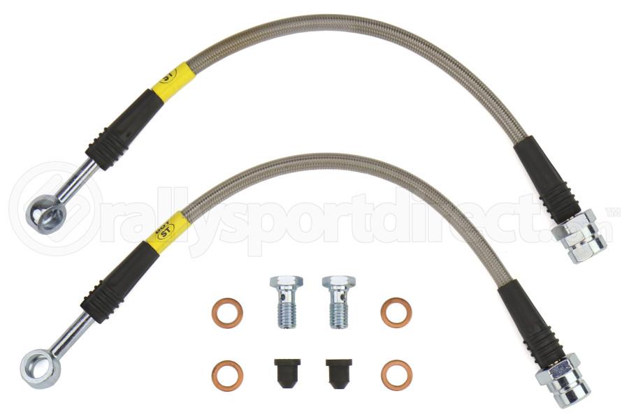 Stoptech Stainless Steel Brake Lines Rear - Volkswagen Models (inc. 2015+ GTI PP / 2016+ Golf R)