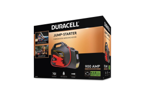 Duracell 900 Peak Amp Portable Emergency Jumpstarter - Universal