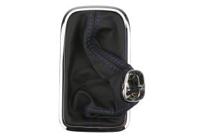 Subaru CVT Shifter Boot w/ Blue Stitching - Subaru CVT Models (inc. 2015+ WRX / Crosstrek / Impreza)