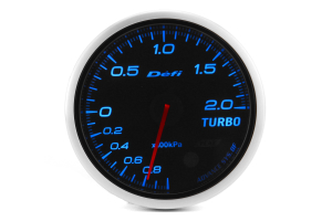 Defi Advance BF Blue Boost Metric 60mm Gauge w/ Control Unit (Part Number: )