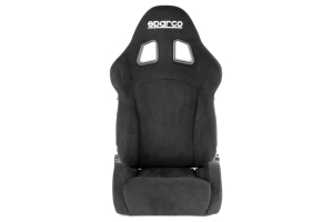 Sparco R600 Alcantara Seat Black ( Part Number: 00968ANR)