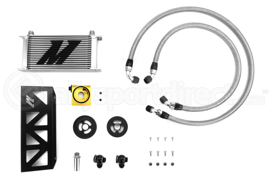Mishimoto Thermostatic Oil Cooler Kit (Part Number:MMOC-BRZ-13T)
