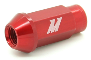 Mishimoto Aluminum Locking Lug Nuts Red 12x1.25 ( Part Number:MIS MMLG-125-LOCKRD)