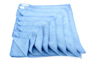Ammex Microfiber Blue Towels ( Part Number:AMM MF50G16X16BL)