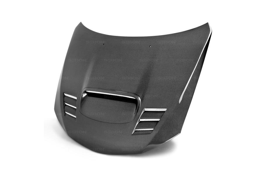 Seibon Carbon Fiber CWII Style Hood (Part Number:HD0809SBIMP-CWII)